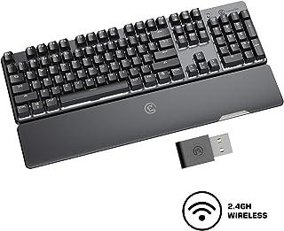 Gaming Keyboard,GameSir GK300 Wireless Mechanical Gaming Keyboard,1ms Low Latency Agility X 2.4GHz Technology,GCM Bluetoot...