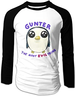 Men's Adventure Time Gunter Raglan Baseball T-Shirt
