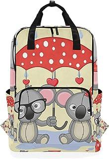 Montoj Mochila de Viaje Koala y Paraguas Mochila Escolar