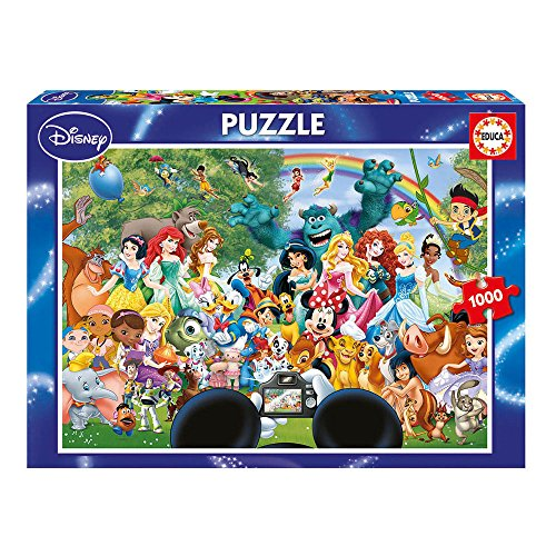 Educa 16297-1000 The Marvellous World Of Disney II, puzzel