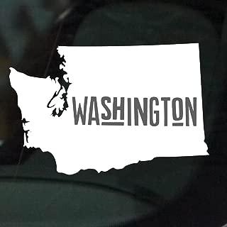 Nudge Printing United States of America Car Decals (Washington)