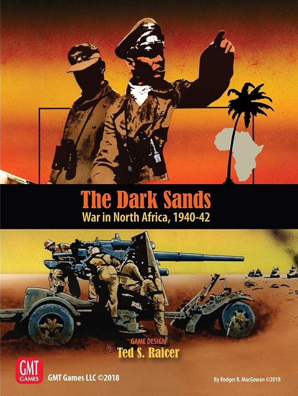 GMT Games The Dark Sands - War in North Africa 1940-42