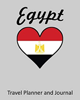 Egypt: Vacation Travel Planner and Journal (8 x 10)