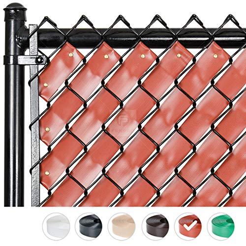 Amazon Com Fenpro Chain Link Fence Privacy Tape Obsidian Black Garden Outdoor