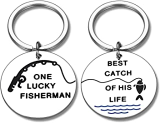 Couple Valentine's Day Gifts Keychain for Him Her Boyfriend Girlfriend Birthday Christmas Keyring Present for Husband Wife...