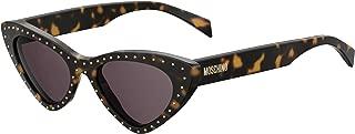 Moschino Cat Eye Sunglasses for Women - Brown Lens, MOS006/S 086K2
