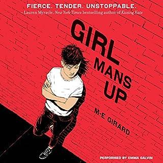 Girl Mans Up audiobook cover art