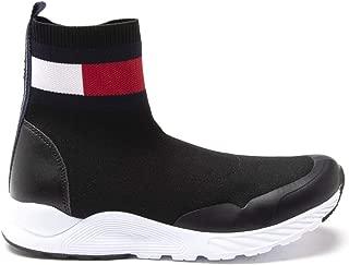 Tommy Hilfiger Sock Girls Sneakers Black