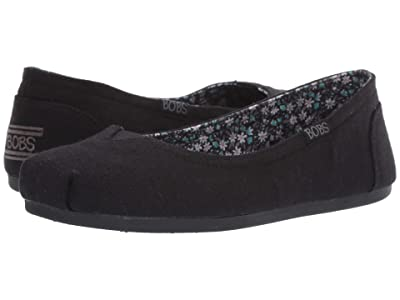BOBS from SKECHERS Bobs Plush Turning Point (Black) Women