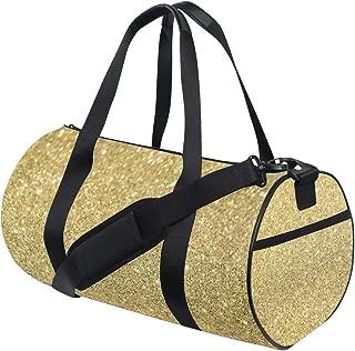 OuLian Duffel Bag Girl Bike Flowers Butterflies Women Garment Gym Tote Bag Best Sports Bag for Boys
