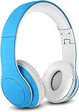 Nenos Bluetooth Kids Headphones Wireless Kids Headphones 93dB Limited Volume Wireless Headphones for Kids (Blue)
