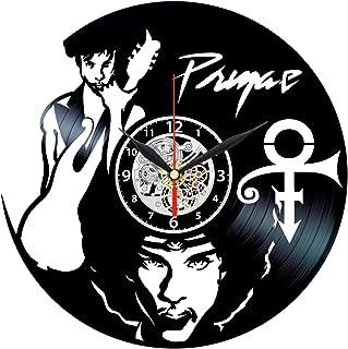 Queen Clocks Prince Vinyl Wall Clock Record Wall Art - Home Decor - Handmade Gifts Ideas