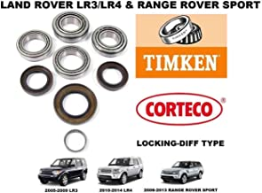 LAND ROVER LR3 LR4 RANGE ROVER SPORT REAR DIFFERENTIAL BEARING KIT LOCKING DIFF
