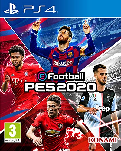 Efootball Pes 2020 - PlayStation 4 [Edizione: Regno Unito] - PlayStation 4