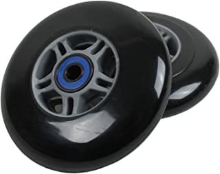 TGM Skateboards 2 Scooter Wheels with ABEC 7 Bearings for Razor Scooter 100mm
