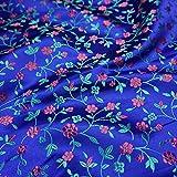 XIAOHUAHUA Blaue Blumen Muster Chinesischer Stil Unterer