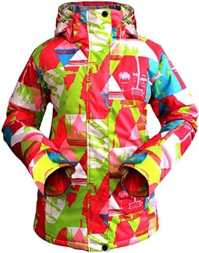 tienda de venta Sunnyday Chaqueta de de de Deporte al Aire Libre de Invierno cálido Traje de esquí General de Las mujeres  mejor calidad
