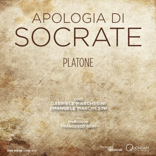 Apologia di Socrate [The Apology of Socrates] Titelbild