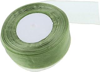 Gobesty Ruban Satin Vert 3 Rouleaux Ruban Cadeau 6mm 10mm 15mm Ruban D/éco Rubans de Tissu for Crafts Emballage de Cadeaux Fleuristes No/ël D/écoration 22M 3 Rouleaux