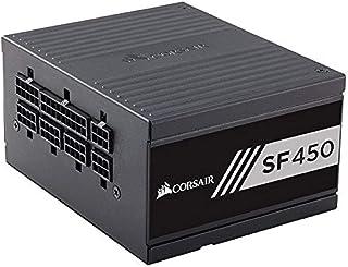 Corsair SF Series SF450 SFF 450 W Fully Modular 80 Plus Gold Power Supply Unit - Black