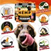 Hemp Dog Chews and Calming Treats for Dogs with Anxiety and Stress - Natural Calming Aid - Separation - Fireworks - Storms - Aggressive Behavior - 180 Calming Chews for Dods for Hip and Joint Health #2