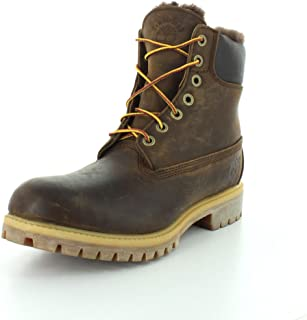 Mens Heritage 6-Inch Shearling Lining Work Boot