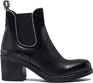 REPLAY Women's Medway Chelsea Boots Leather