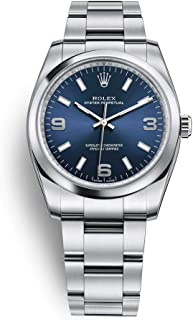 Oyster Perpetual 34 Stainless Steel / Oyster Bracelet / Blue Dial