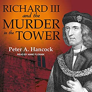Richard III and the Murder in the Tower audiobook cover art
