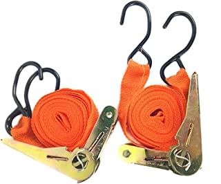 Shiwaki 2M 1 Ton Belt Hook Car Towing Rope Tow Strap Emergency Heavy Duty Tow Cable