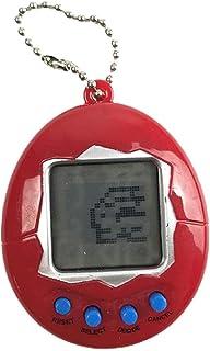 Aoseahess Virtual Pet Toy Animal Games Keyring Electronic Toys Nostalgic 90s Toy, Virtual Digital Pet Retro Handheld Game ...
