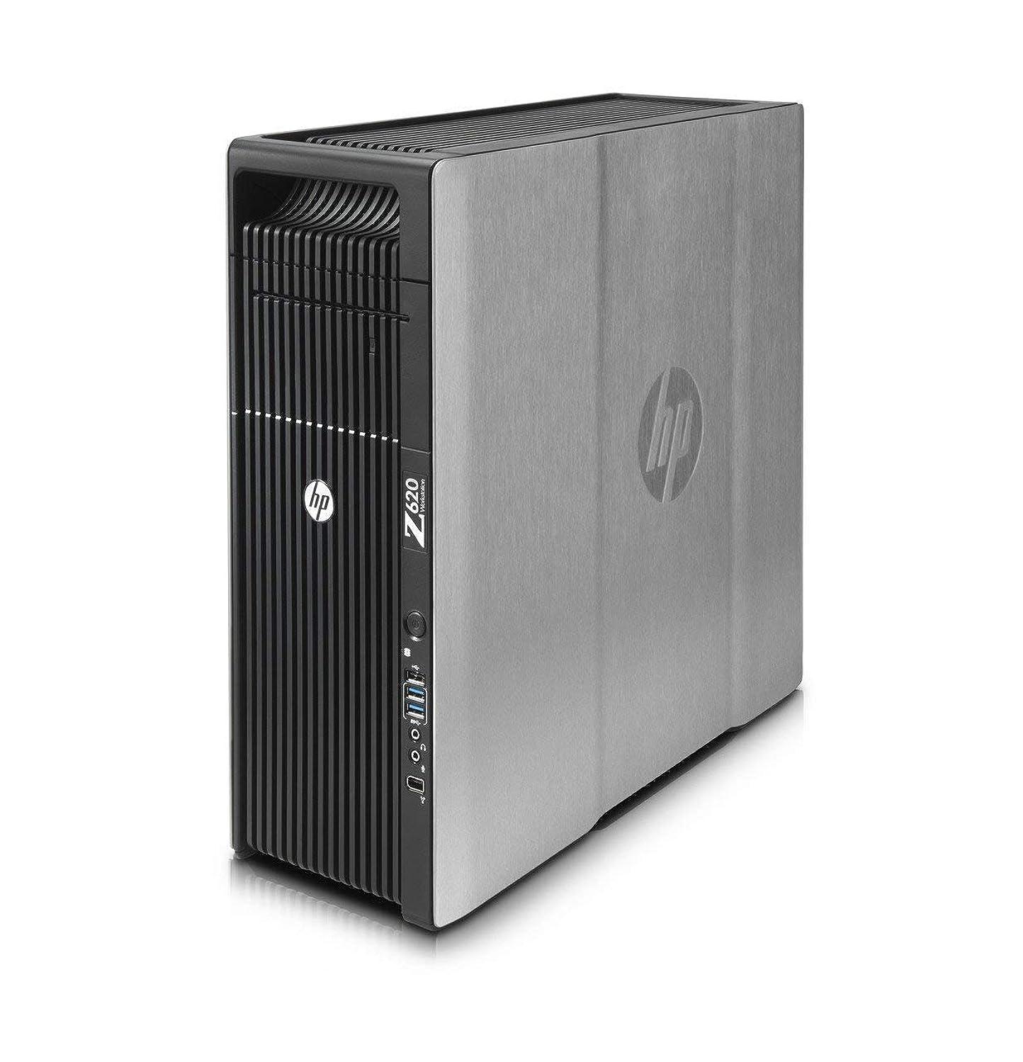 HP Z620 Workstation, 2x Intel Xeon E5-2670 2.6GHz Eight Core CPUs, 96GB memory, 256GB SSD, 1TB Hard Drive, NVIDIA Quadro 4000, Windows 7 Professional Installed (Renewed)