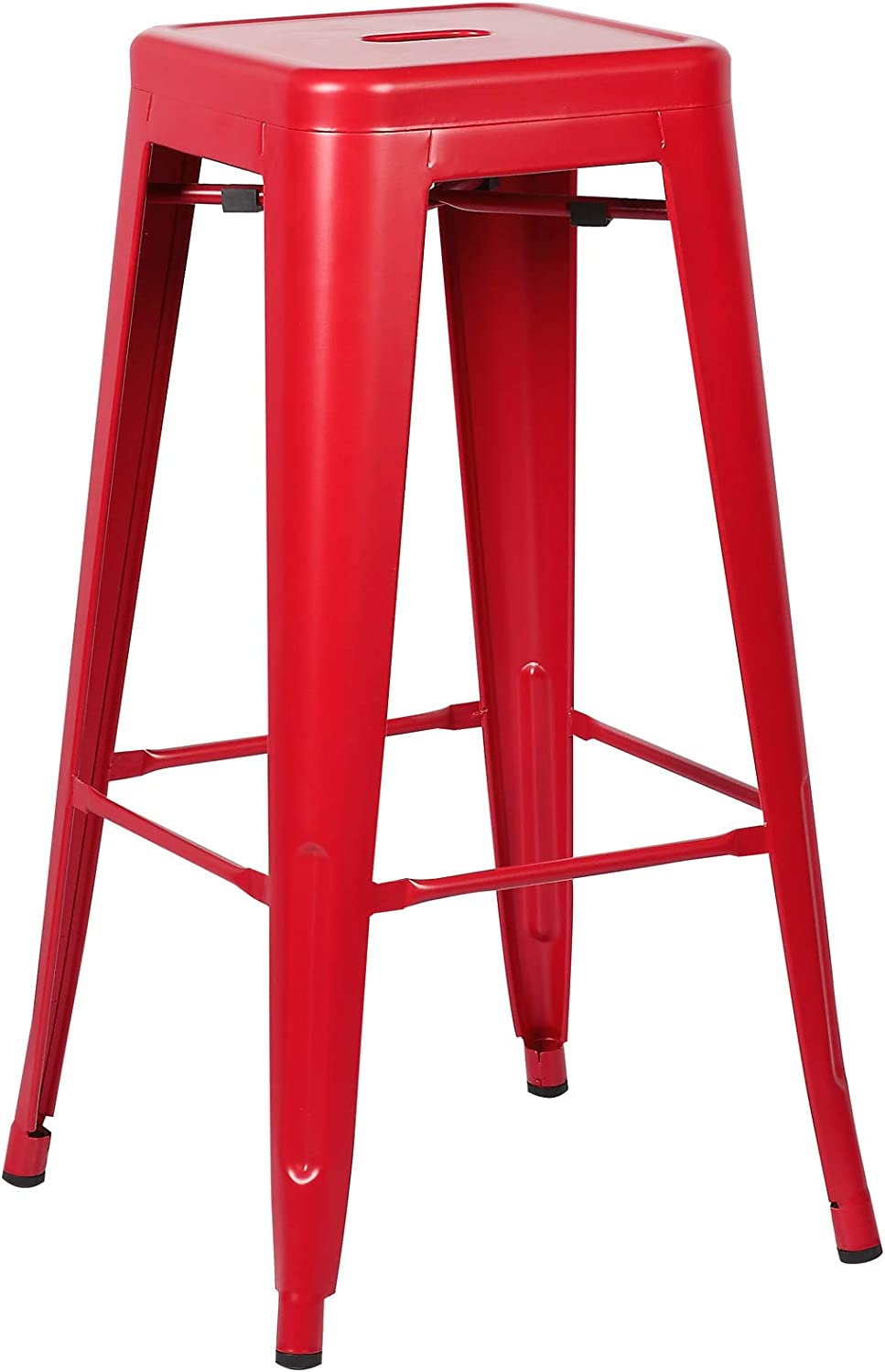 Poly and Bark Trattoria Bar Stool in Red