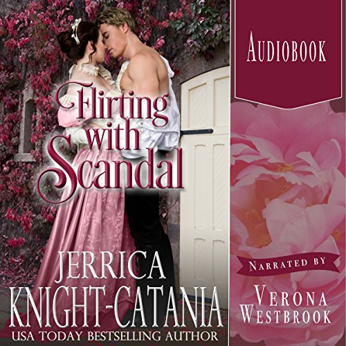 Flirting with Scandal audiobook cover art