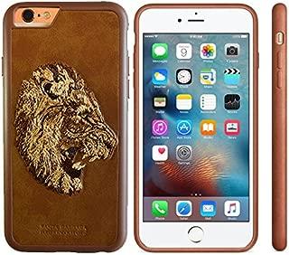 Santa Barbara Polo & Racquet Club © Plaid Sauvage Lion Case for iPhone 6 / 6s