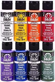 FolkArt ENAM8SET Enamel Paint Set