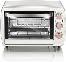 Z-Color Horno Mini Eléctrico Horno - Blanco Control de Temperatura Independiente 20L Mando Múltiple Mando Mini Horno Pizza Pizza, 44x33x29.5cm Horno Tostadora