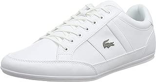 Lacoste Chaymon BL 1 CMA Men's Sneakers, White/White