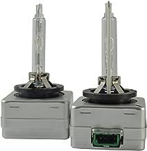 Safego 2x D3S Lámpara de Xenón de Faros Bombilla HID Xenon luz Luces de Coche para Coches Blanco AC 12V 35W 6000K
