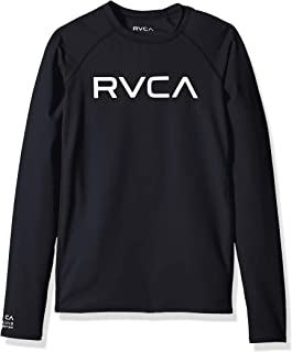 RVCA Big Boys' Long Sleeve Rashguard