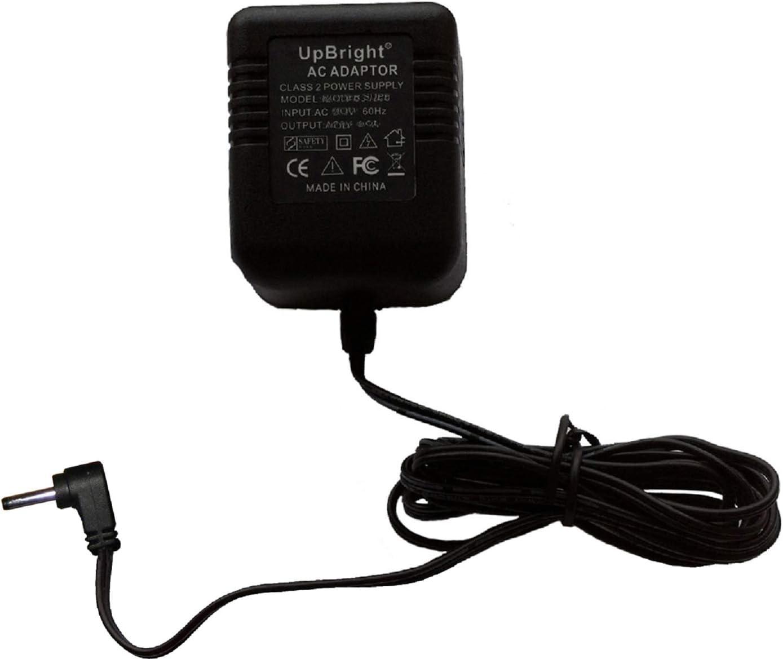 UpBright Extra Handset Cradle 6VAC AC/AC Adapter Replacement for AT&T Vtech CS6519 CS6519-14 CS6519-15 CS6519-16 CS6519-17 CS6719 CS6719-2 DECT 6.0 Digital Cordless Phone Answering System (NOT 6VDC)