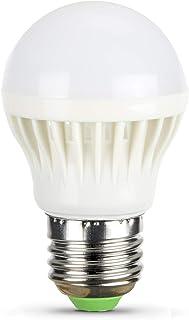 5V 6V Screw Medium Base LED Light Bulb for 5 Volt 6 Volt Battery Power Source Cool White 6000K DIY Project Bike Bicycle Go...