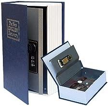 خزنة سرية لكتاب سيكريت مع قفل متعدد الاستعمالات وقلم قاموس كتاب مخفي آمن للحمل لتخزين المال والمجوهرات والجواز