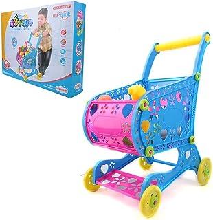 プラスチックカートおもちゃショッピングカートおもちゃ、スーパーマーケットショッピングトロリーシミュレーションカートシミュレーションショッピングトロリー、子供幼児用