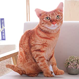 猫 ぬいぐるみ ネコ リアル 50CM かわいい 動物 アニマル アメショ 擬似ペット 3D 癒し 柔らかい/丈夫/耐久性 キッズ 出産祝い 入園祝い 誕生日ギフト クリスマスプレゼント おもちゃ 添い寝枕 猫B