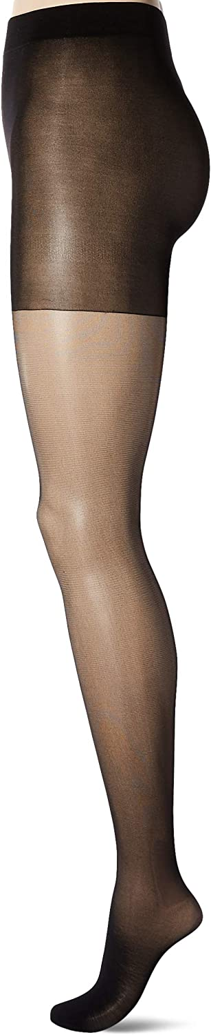 Secret Silky womens Firm Support Sheer Control Top Pantyhose, 1 Pair