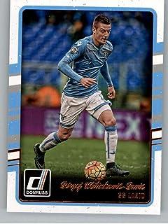 2016-17 Donruss Soccer #168 Sergej Milinkovic-Savic SS Lazio Official Futbol Trading Card From Panini America