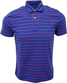 Men's Striped Soft Cotton Polo