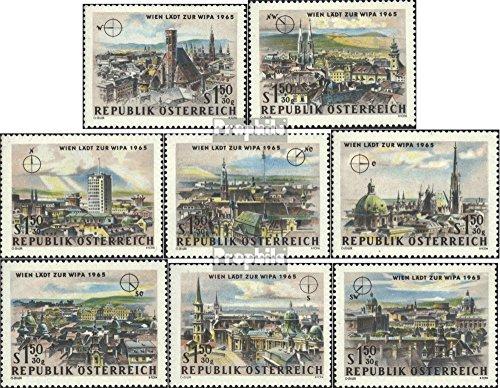 österrike 1164-1171 (fullständigt utgåva) 1964 WIPA 65 (Frimärken för samlare)