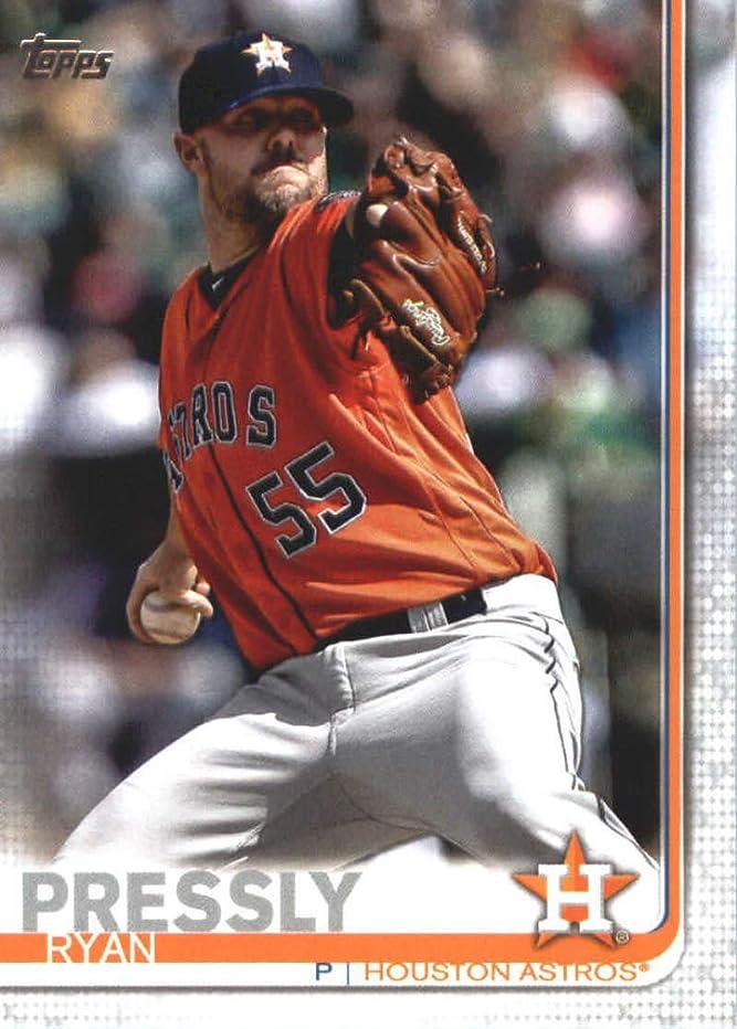2019 Topps Series Two Baseball #386 Ryan Pressly Houston Astros Offical MLB Trading Card
